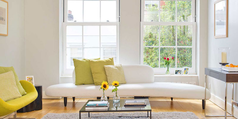 Apartments range in style at The Baynards from vintage to modern.